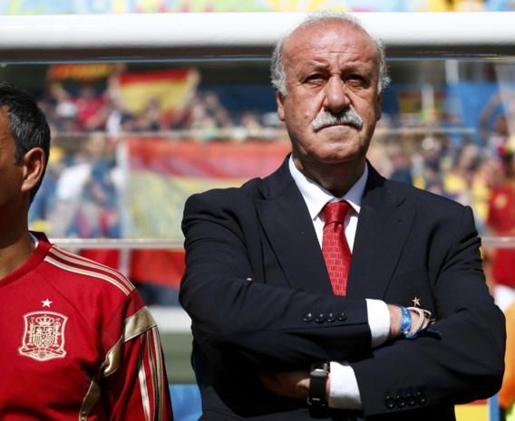Vicente Del Bosque blijft Spaans bondscoach