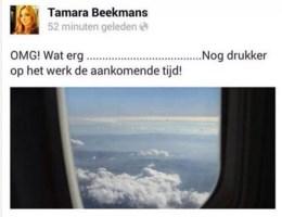 Medewerkster reisbureau onder vuur na tweet over vliegtuigramp