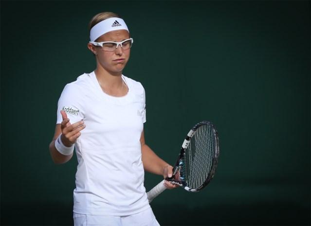 Kirsten Flipkens bereikt tweede ronde in Washington