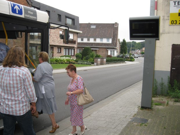 Busaankondigingsborden werken na drie jaar