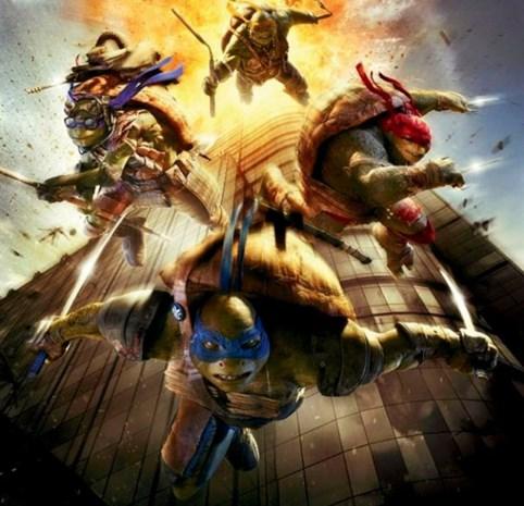 Paramount blundert met Ninja Turtles-poster