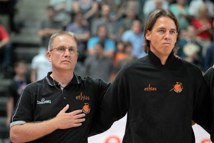 Jacques Stas coach Spirou Charleroi