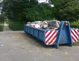Stad ruimt sluikstort in Parkwijk op