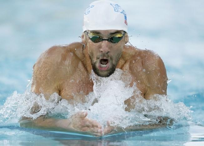 Michel Phelps zwemt vier disciplines op Amerikaanse kampioenschappen