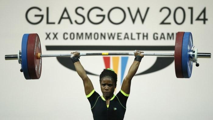 B-staal 16-jarige gouden medaille in gewichtheffen is ook positief