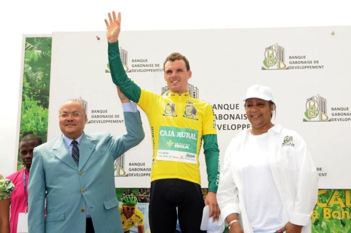 Sanchez en Boom fietsen in 2015 voor Astana