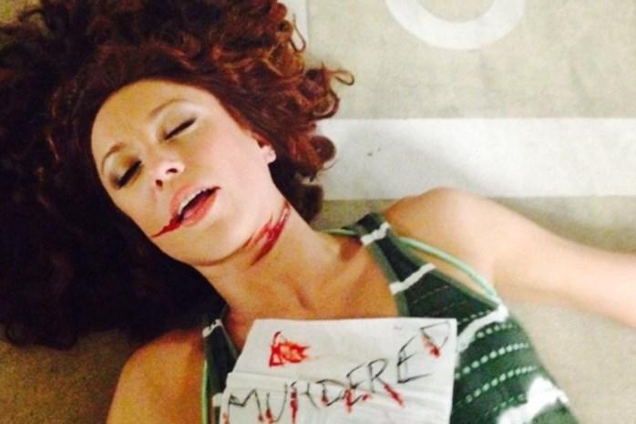 Foto: Natalia ensceneert eigen moord