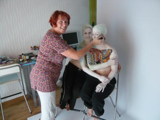 Bodyartstudio Magic Faces start met workshops