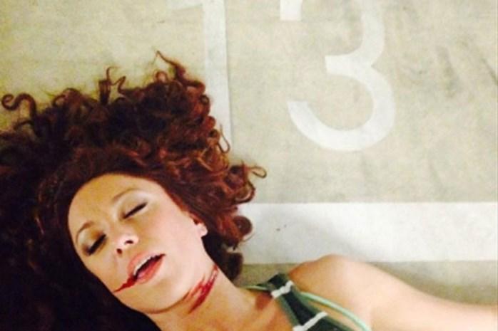 Natalia zet eigen dood in scène