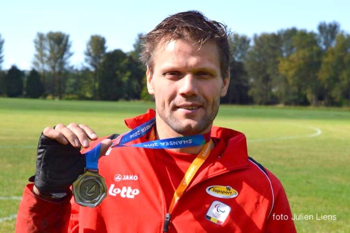 Rolstoelatleet Peter Genyn wint zilver op EK
