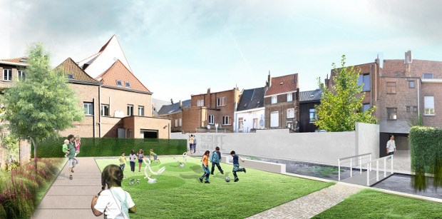 Aanleg Rik Wouterstuin start begin 2015