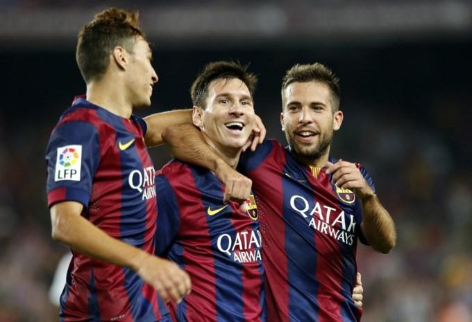 Messi scoort meteen twee doelpunten