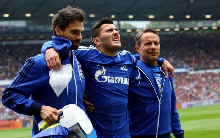 Schalke 04 moet het half jaar zonder verdediger Kolasinac stellen