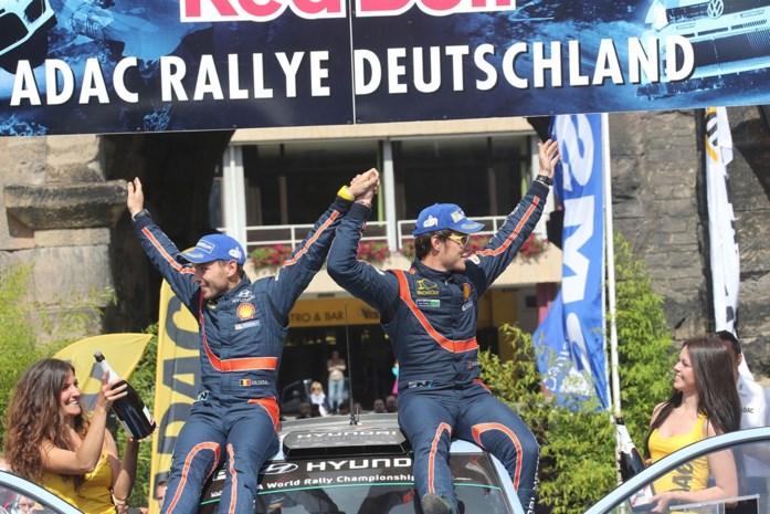 Thierry Neuville wint Rally van Duitsland: 'Dit vergeet ik nooit'