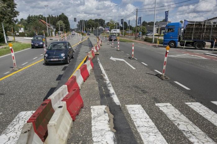 Wegpolitie houdt grote flitsactie bij wegenwerken