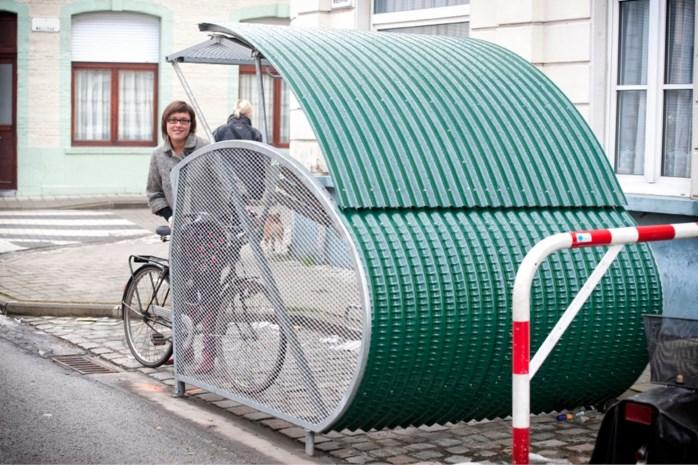 Eerste fietstrommel in Wilrijk
