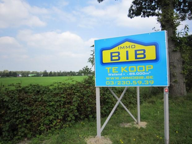 Terrein motorcross in Kruisdreef staat te koop