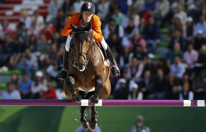 Nederlandse jumpingploeg wint goud in Caen