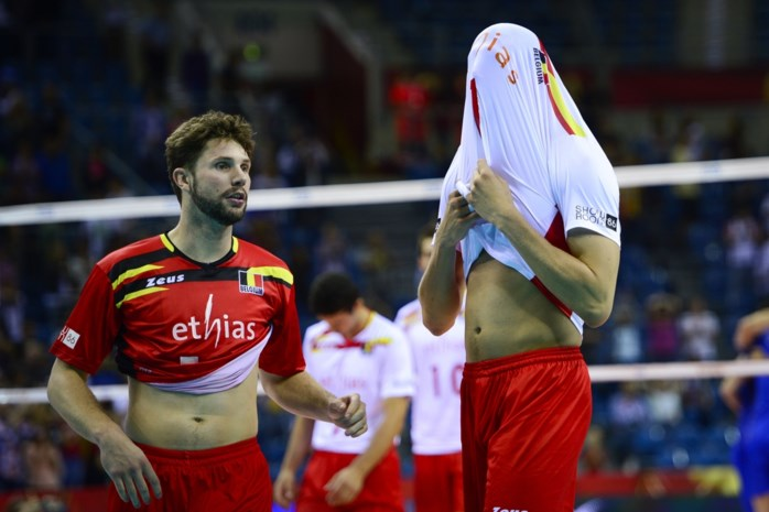 Red Dragons onderuit op WK volleybal