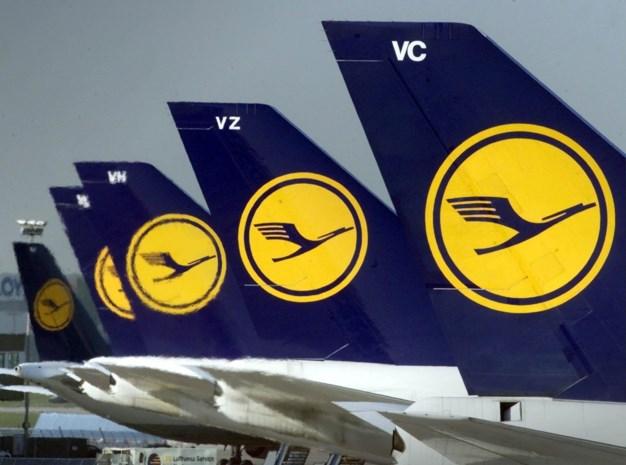 Lufthansa-piloten staken vrijdagavond in Frankfurt