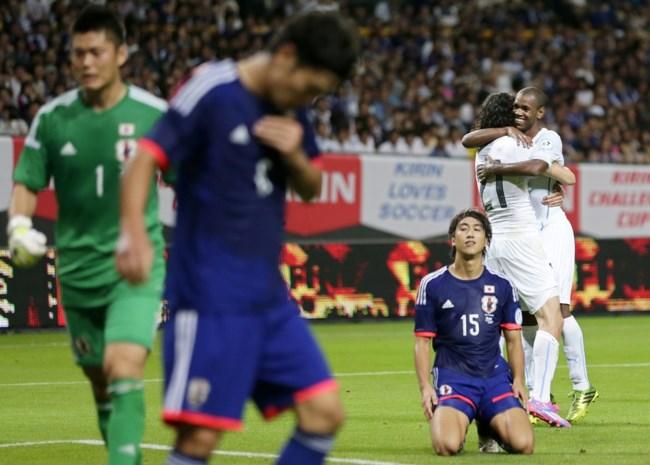 Uruguay wint oefenduel in Japan