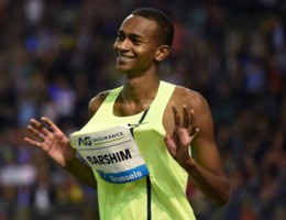 Barshim lukt ei zo na wereldrecord hoogspringen in Brussel