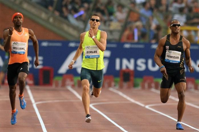 Kevin Borlée kan 400m op Memorial niet winnen