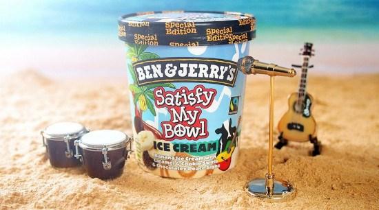 Ben & Jerry's eert Bob Marley