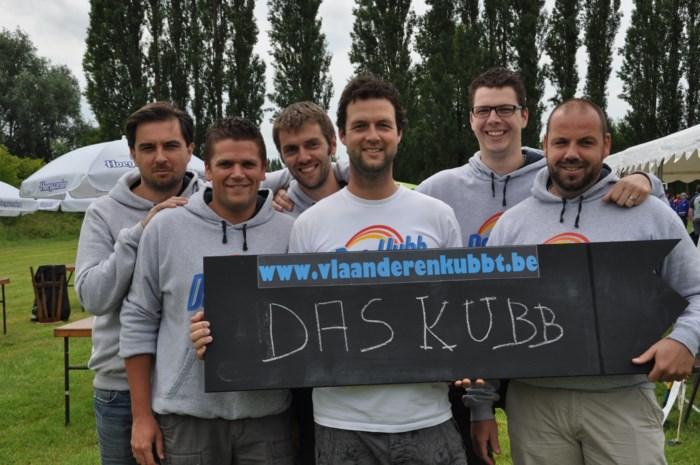 Beste Belgische teams strijden om Kubb-titel 2014