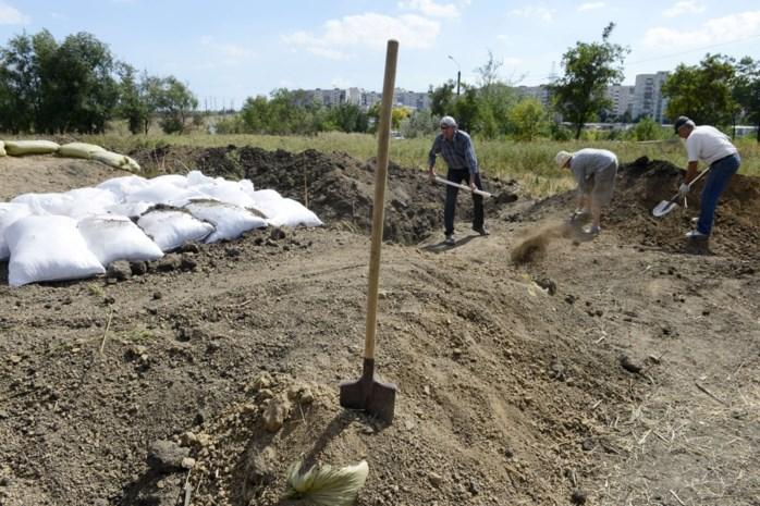 'Rebellen in Oekraïne dwingen burgers tot dwangarbeid'
