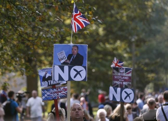 Weekendpeilingen tonen nek-aan-nekrace in Schotland