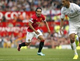PREMIER LEAGUE. Falcao valt in bij winnend United, Belgen scoren aan lopende band