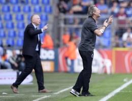 Preud'homme opvallend rustig: 'Duidelijke penalty, maar wij scoren uit offside'