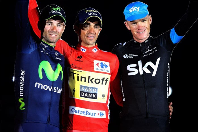 Contador leidt in UCI WorldTour