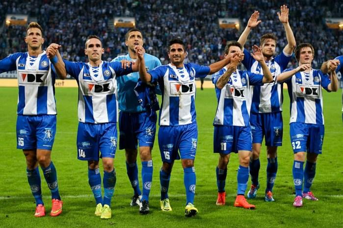 AA Gent rukt op naar tweede plaats na moeizame zege