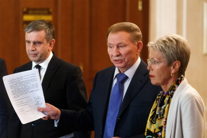 Separatisten en Kiev bereiken akkoord over wapenstilstand