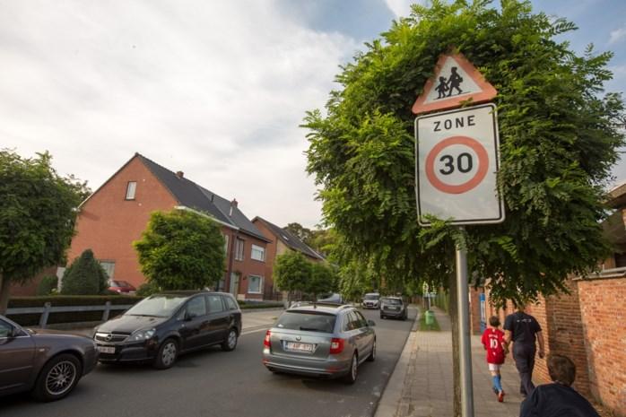 Steeds meer chauffeurs geflitst in zone 30