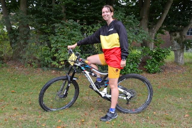 Kristien Nelen is Belgisch kampioen Enduro