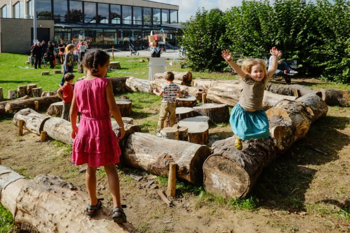 Eerste natuurspeelplaats van Mechelen geopend