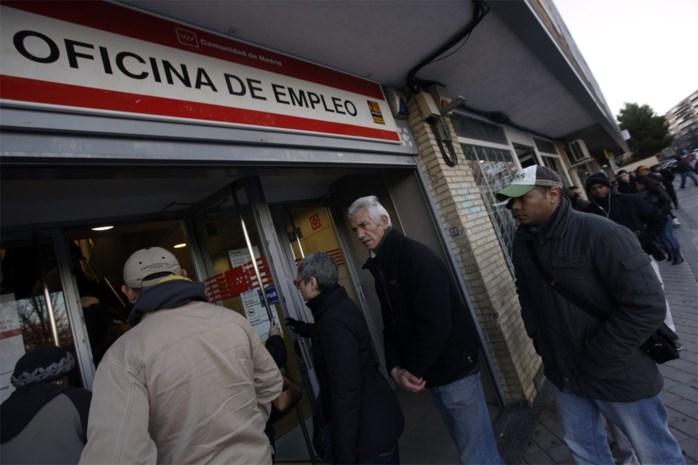 Spaanse werkloosheid blijft stijgen