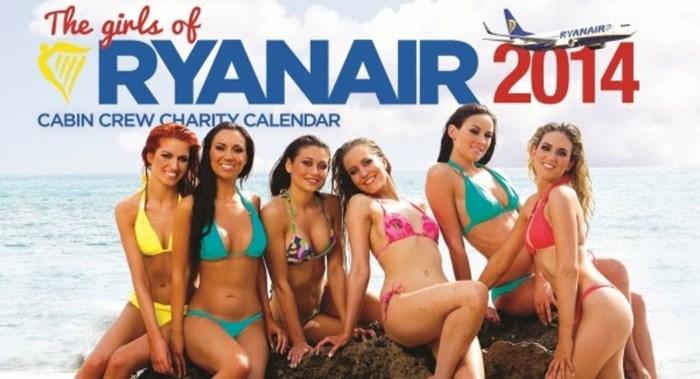 Ryanair stopt met bikinikalender van airhostessen