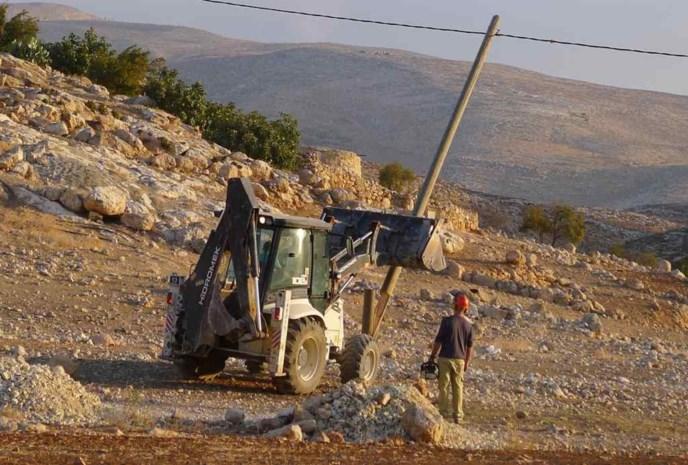 Israël vernielt Belgisch project op Westoever
