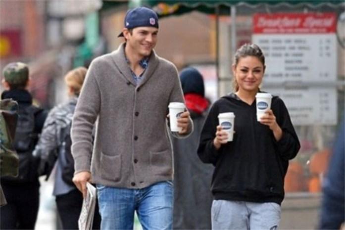 Mila Kunis en Ashton Kutcher verwelkomen eerste kindje