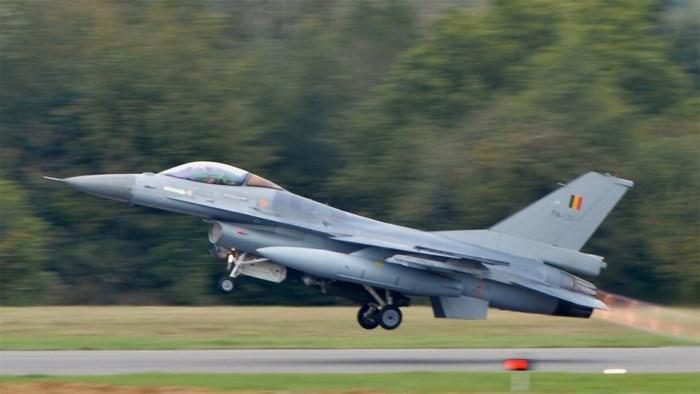 Belgische F-16's voeren gewapende verkenningsvluchten boven Irak uit