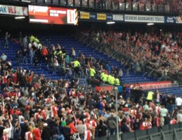 19 aanhoudingen na Feyenoord-Standard