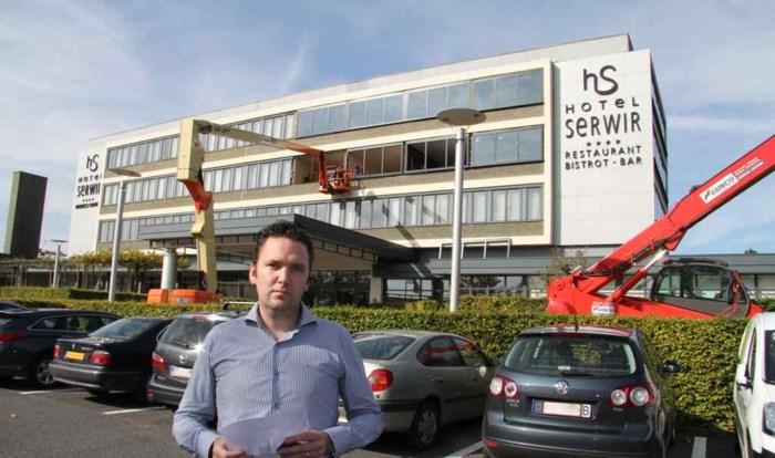 Hotel Serwir vernieuwt nu ook buitenkant