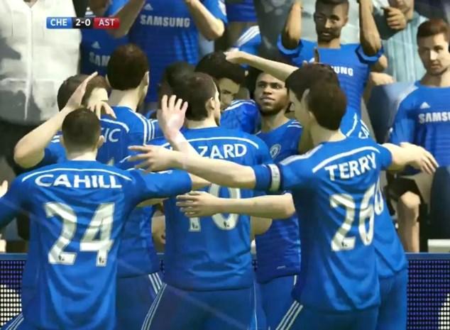 Superfan speelt goals van Costa perfect na in FIFA 15