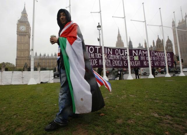 Brits parlement stemt symbolisch voor erkenning Palestina