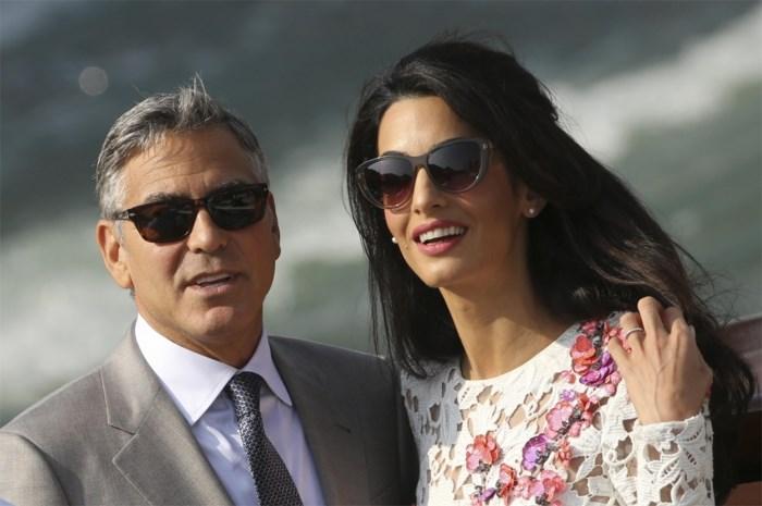 Amal Alamuddin neemt naam Clooney over