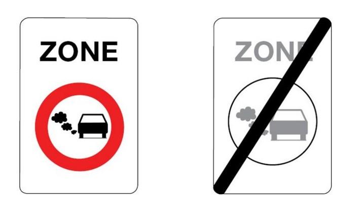 Eén auto op tien mag vanaf 2016 niet voorbij dit bord rijden